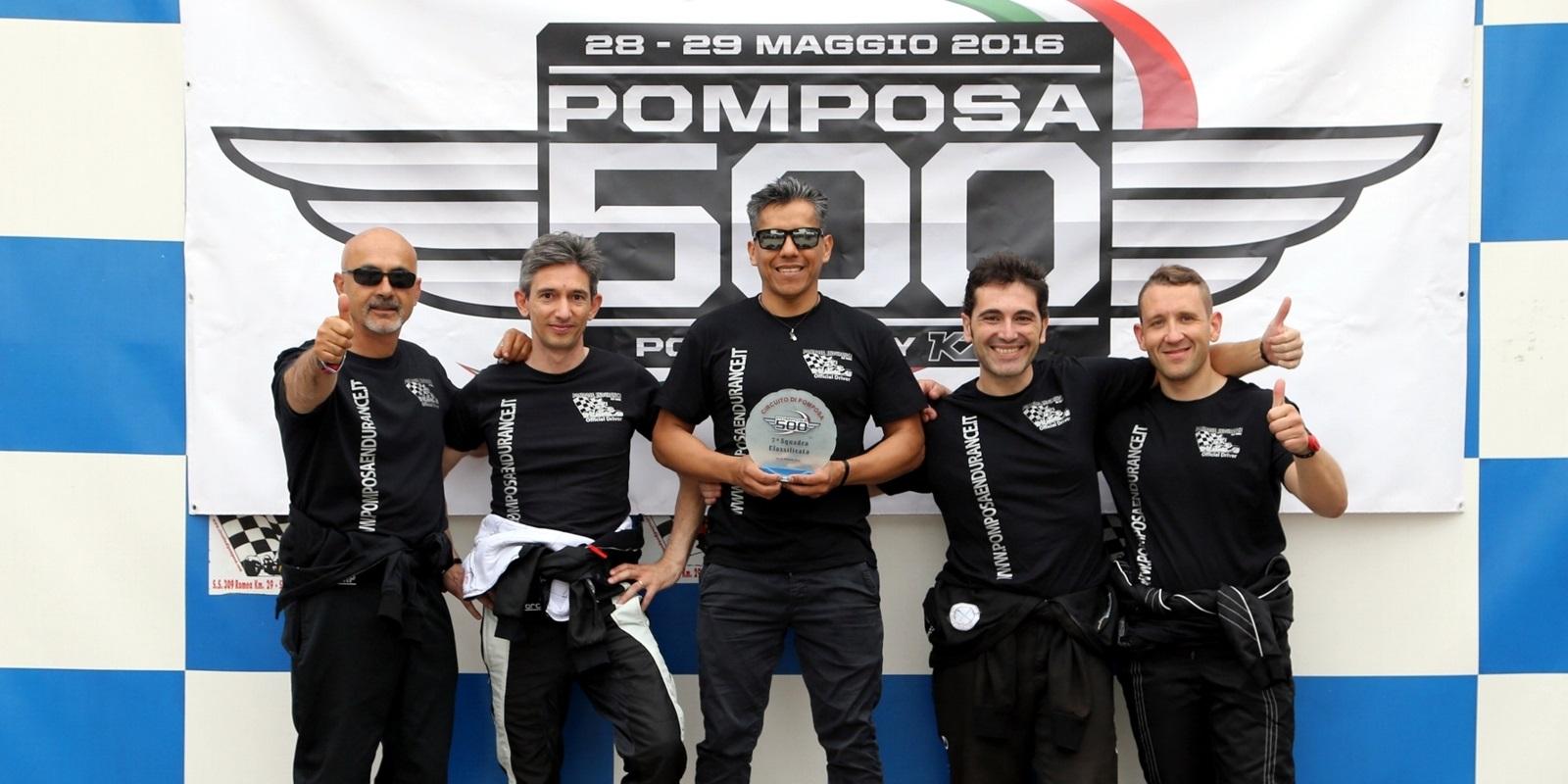 2016 – 500 Miles of Pomposa